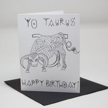 Load image into Gallery viewer, Yo Taurus Card
