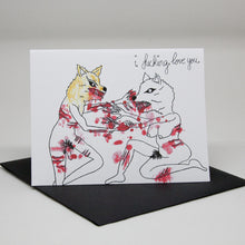 Load image into Gallery viewer, Wolf Love Card