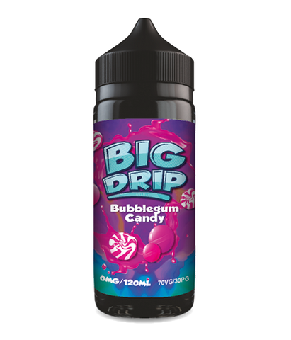 Doozy Vape - Big Drip Bubblegum Candy - 100ml Short fill - E Liquid