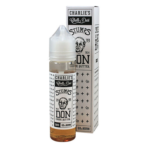 Charlie's Chalkdust Stumps 1933 Don - Cookie Butter 50ml Short Fill