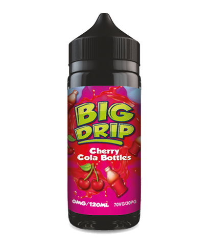 Doozy Vape - Big Drip Cherry Cola Bottles - 100ml Short fill- E Liquid