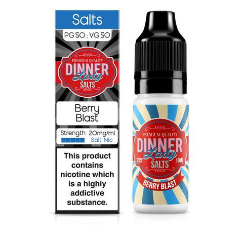 Dinner Lady Berry Blast Nic Salt 10ml