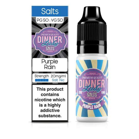 Dinner Lady Purple Rain Nic Salt 10ml