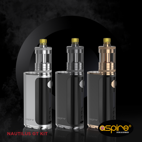 Aspire Nautilus GT Vape Kit - Stainless Steel