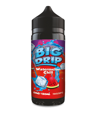 Doozy Vape - Big Drip Watermelon Chill - 100ml Short fill - E Liquid