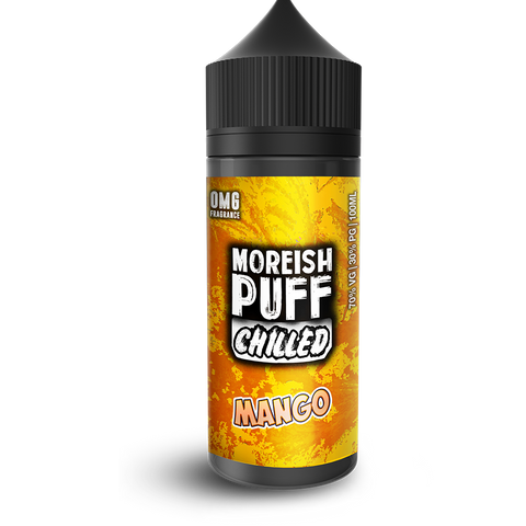 Moreish Puff Chilled Mango - 100ml Short fill E Liquid