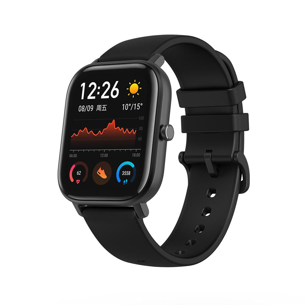 [bluetooth 5.0]Amazfit GTS 341 PPI AMOLED Screen BT5.0 Wristband GPS+GLONASS Light Weight 5ATM Waterproof Smart Watch