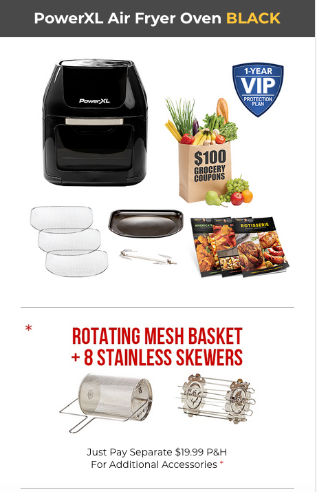 Air Fryer's Best-Selling Rotisserie & Dehydrator Plus Holiday Sale Now
