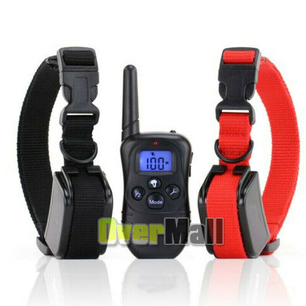 Dog Shock Training Collar 1000 Yards Remote and Waterproof Dog Collar