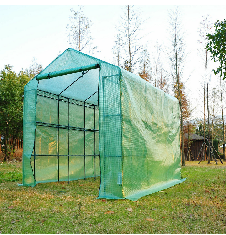 Reliable Tech Portable Greenhouse Walk In Green House Outdoor Year Around Plant Gardening