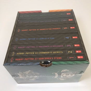 HARRY POTTER COMPLETE BOX SET 7 Harry Potter Series Books SEALED BOX