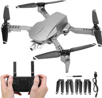 L106 Pro mini drone with 2-axis stabilizer gimbal camera drone 4K 5G WIFI GPS Optical flow positioning quadcopter VS SG907 drone AE