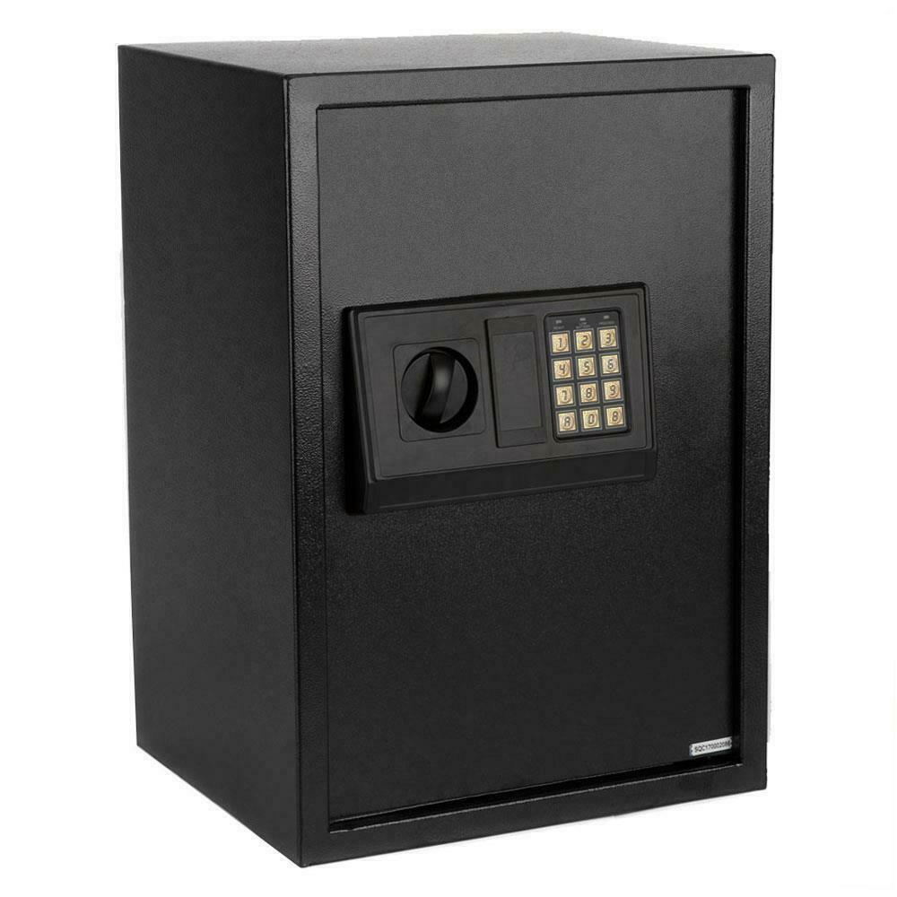 Home Safe Box Electronic Keypad Money Depository  Security Gun Lock
