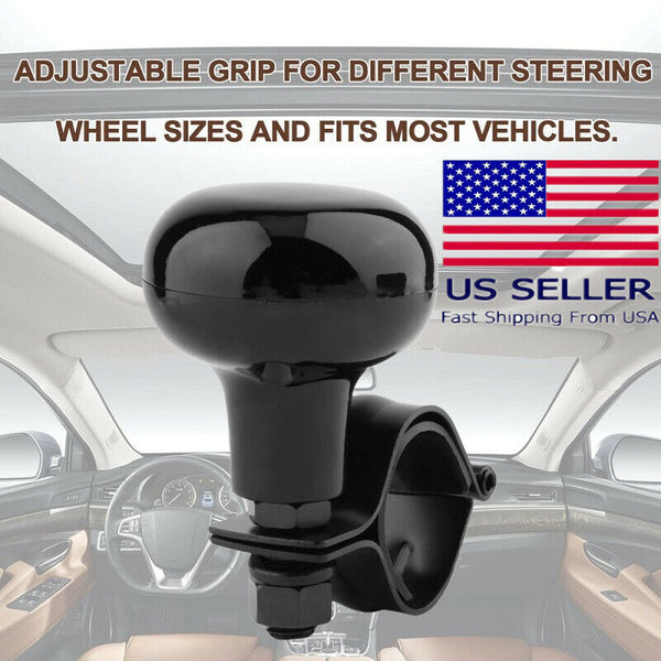 Car Steering Wheel Spinner Knob Power Handle Ball Hand Control Ball Booster Wheel Strengthener Auto Spinner Knob Ball