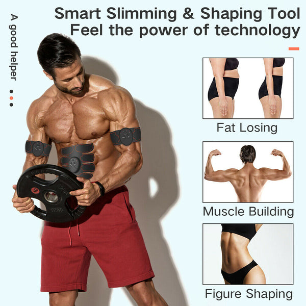 Muscle Stimulator Abdominal EMS ABS Trainer or massager
