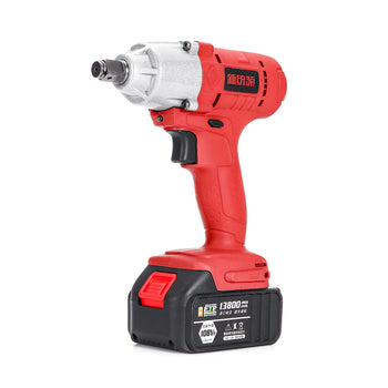 Cordless Electric Wrench 320Nm Driver Lithium Battery Wrench High Torque Power Wrench
