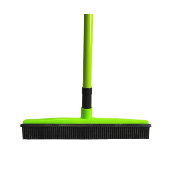 Rubber Broom Hair Lint Removal Device Telescopic Bristles Magic Clean Sweeper Squeegee Bristle Long Push Broom Outdoor gadget