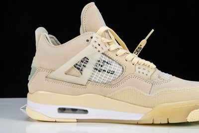 Air Jordan 4 Retro Off-White Sail (W) - Fazye