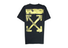 OFF-WHITE Acrylic Arrows S/S T-Shirt (Black/Yellow) - Fazye