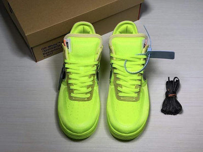"Air Force 1 Low x Off White ""Volt"" - Fazye"