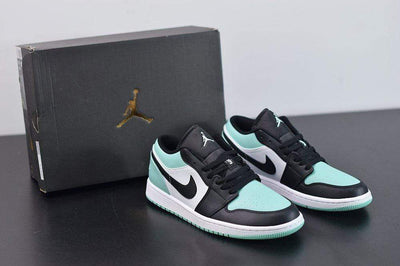 "Air Jordan 1 Low ""Emerald Toe"" - Fazye"