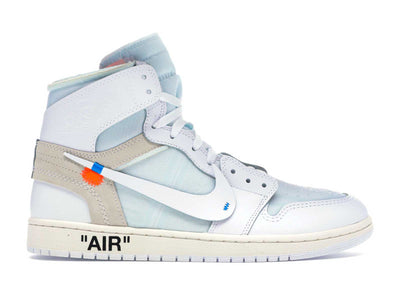 Air Jordan 1 Retro High Off-White - 'White' - Fazye