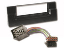 BMW radio bezel 5 series E39 X5 X 5 including ISO adapter