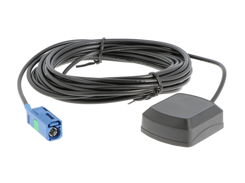 GPS antenna 5m cable with Fakra (F) connector for VW, ZENEC etc.