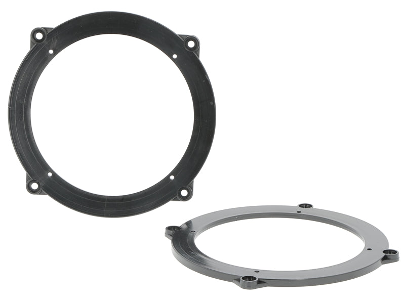 Loudspeaker rings AUDI A3 3-door 2003-12, 165mm, rear panel