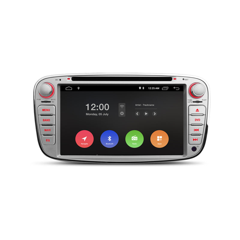 Navigation for Ford Silver Oval 7"