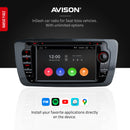 Navigation for Seat Ibiza 7"