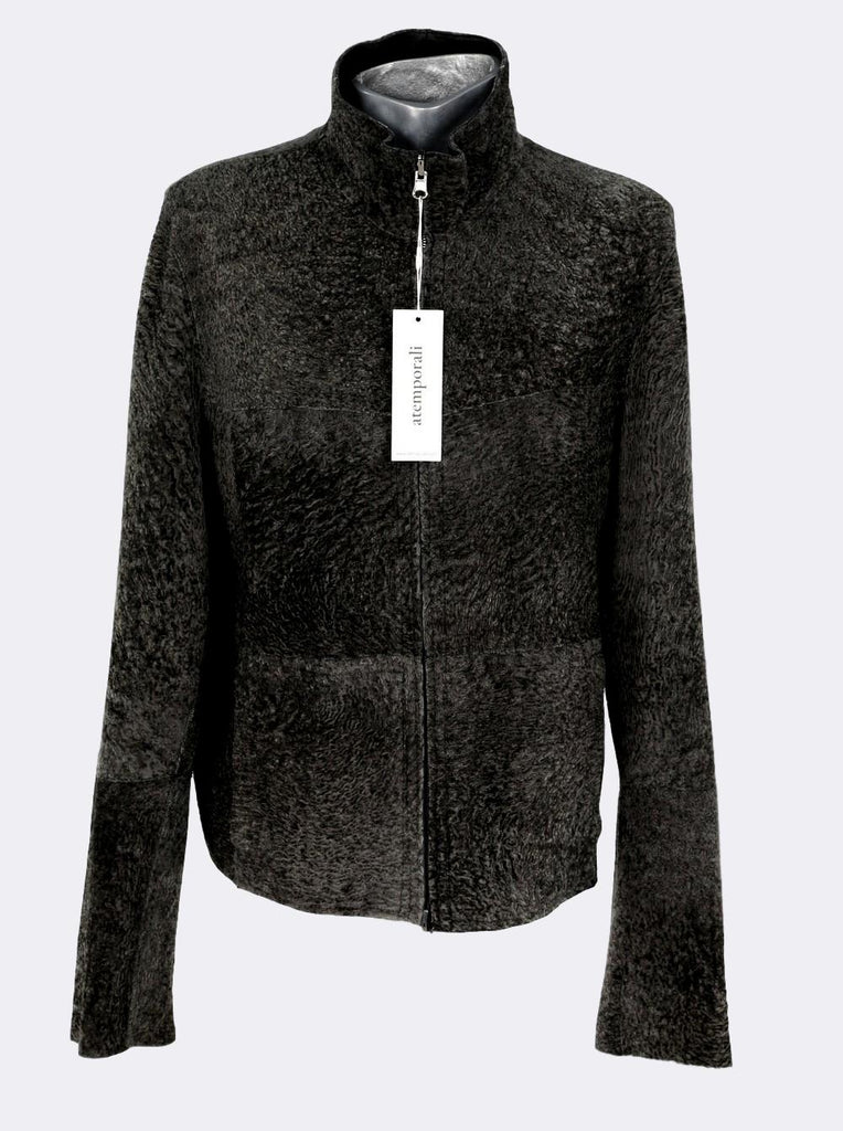 Reversible Leather Fur Jacket
