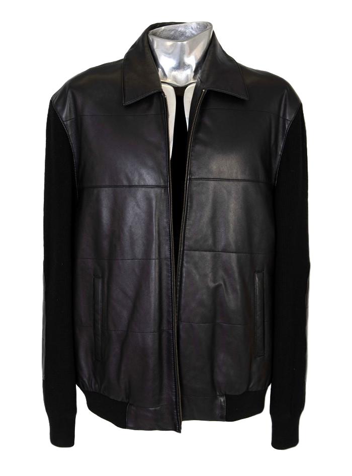 Men's Verri Lamb Nappa Leather Jacket - atemporali