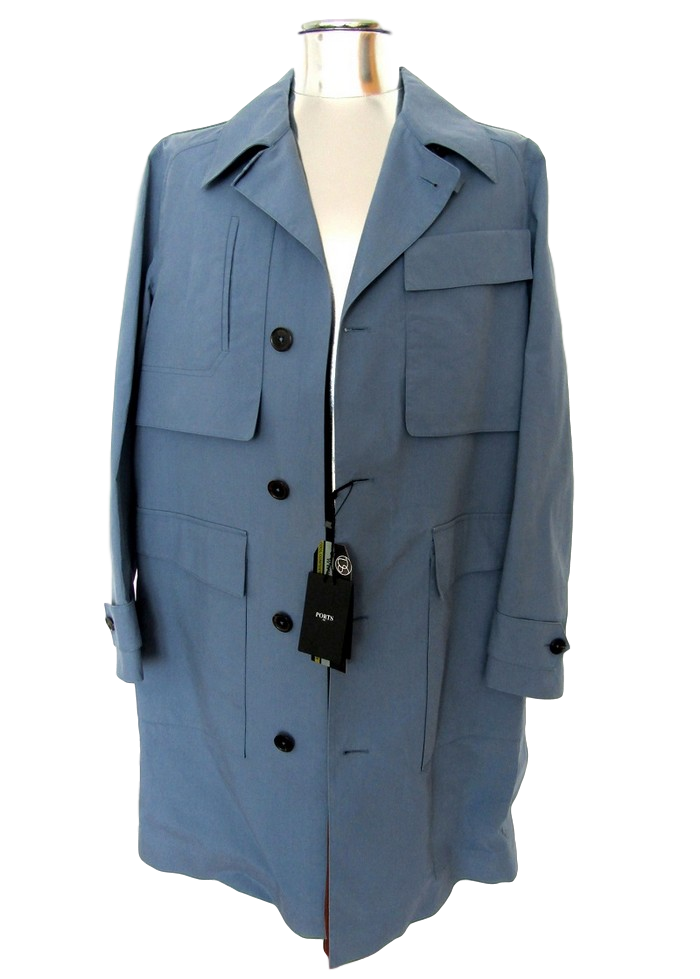 Men's Ports 1961 Cotton Summer Raincoat - atemporali