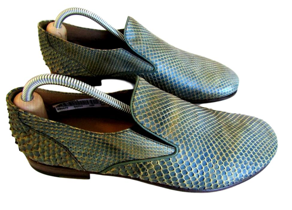 Men's Giorgio Armani Python Snakeskin Shoes - atemporali