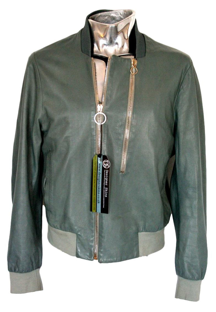 Men's Paul Smith Leather Bomber Jacket - atemporali