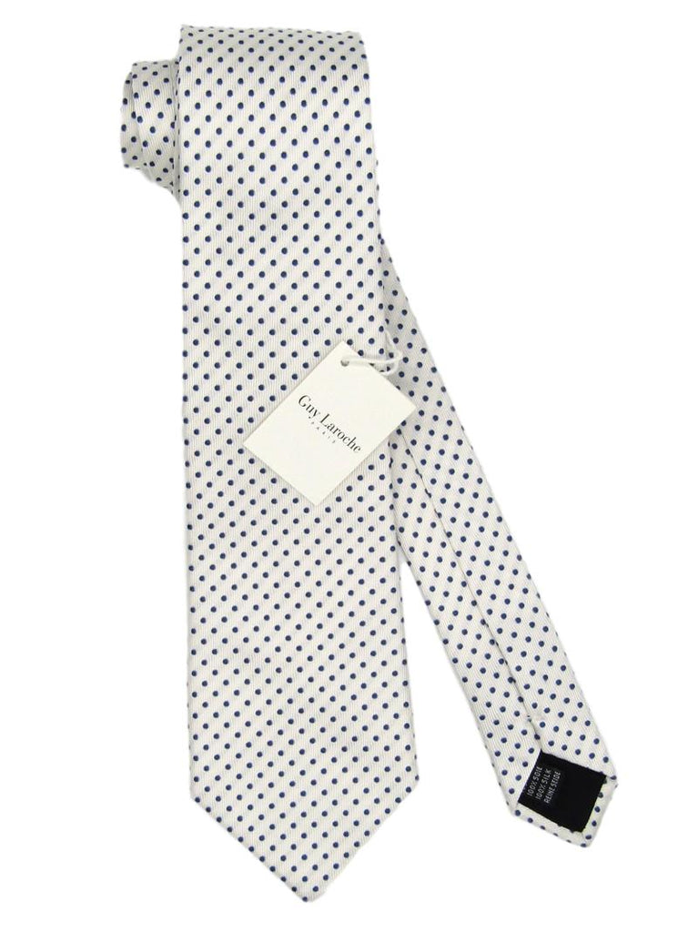 Men's Guy Laroche Paris Polka Dot Silk Tie - atemporali