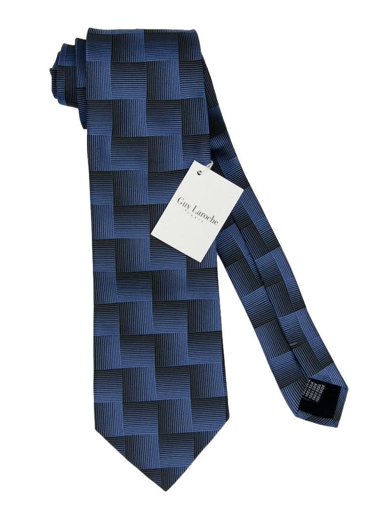 Men's Guy Laroche Paris Geometric Silk Tie - atemporali
