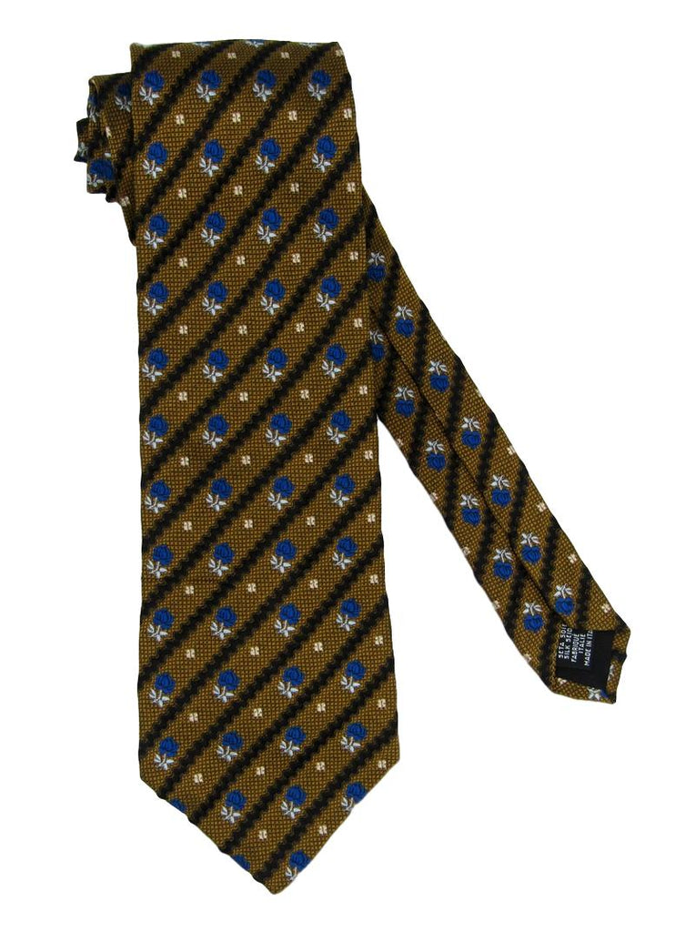 Men's GianMarco Venturi Rose Silk Tie - atemporali