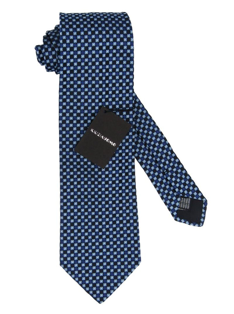Men's Krizia Uomo Square Silk Tie - atemporali