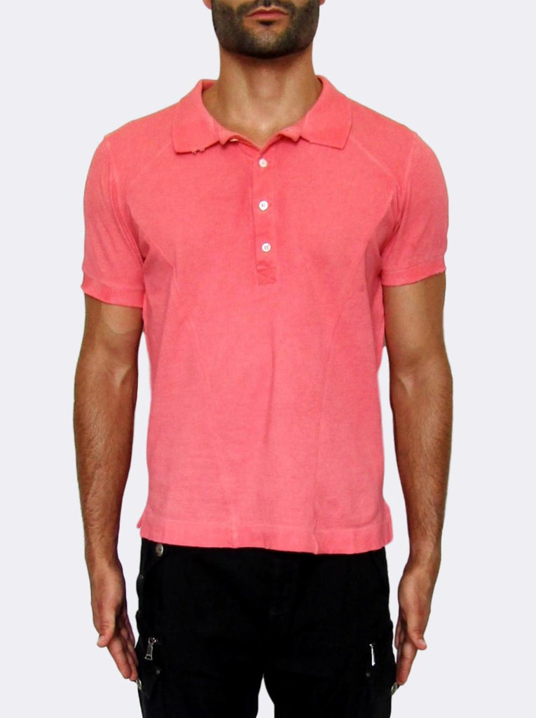 Men's Pierre Balmain Slim Fit Polo Shirt - atemporali