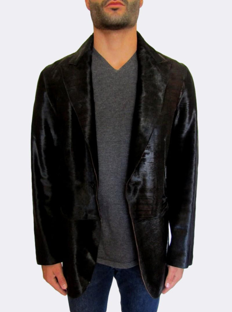 ´Cambus´ Calf Hair Leather Jacket