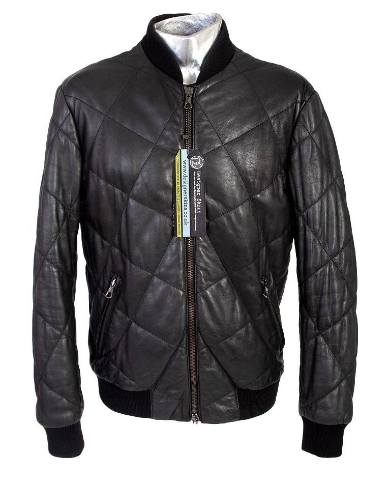 Men's Lot 78 Quilted Leather Jacket - atemporali