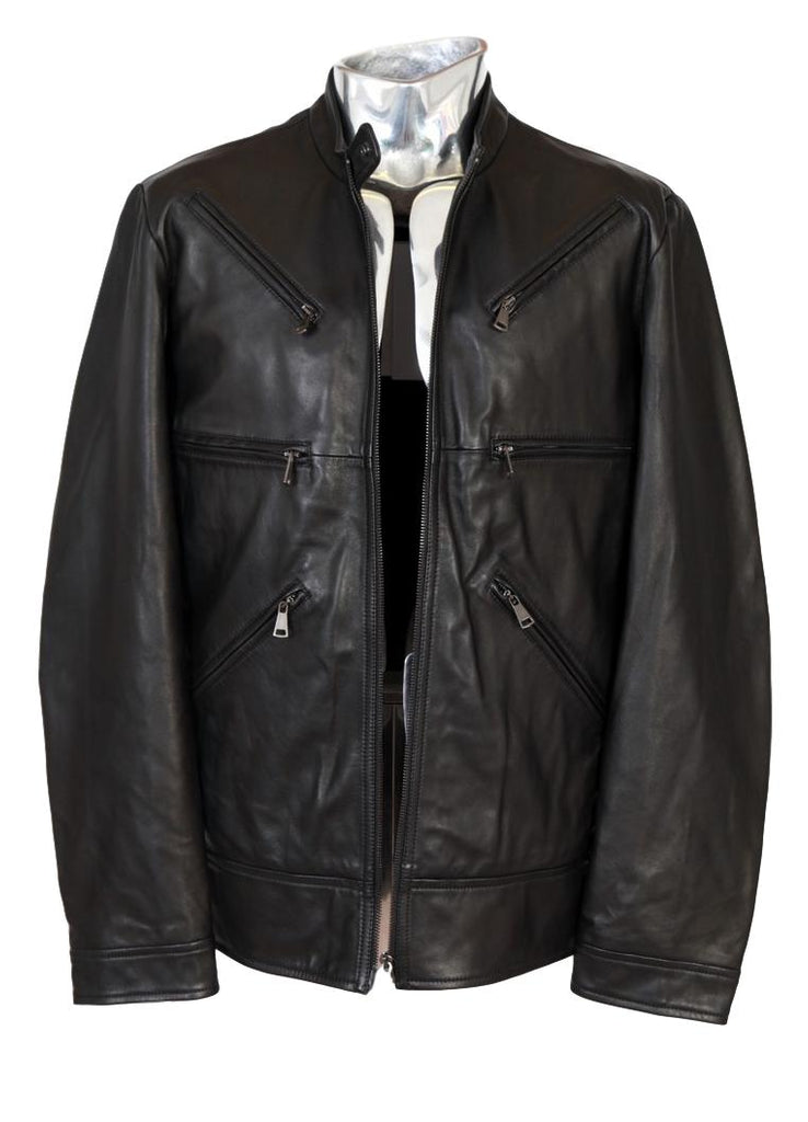 Men's Vivienne Westwood Sheepskin Leather Jacket - atemporali