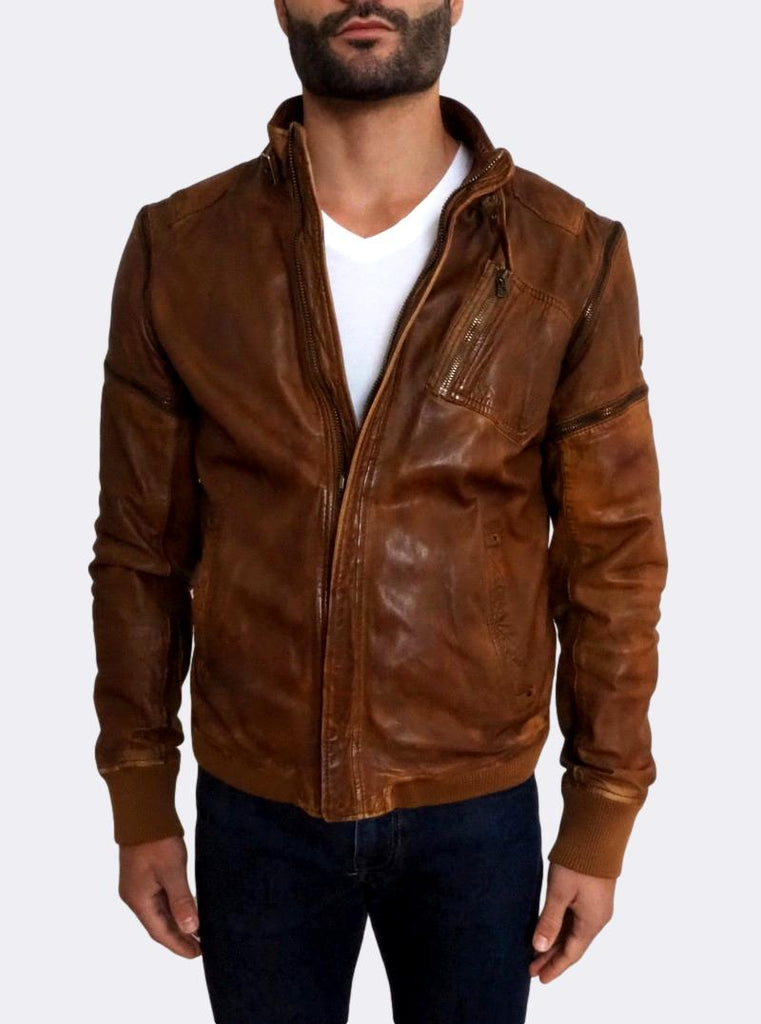 'Limiss' Leather Jacket