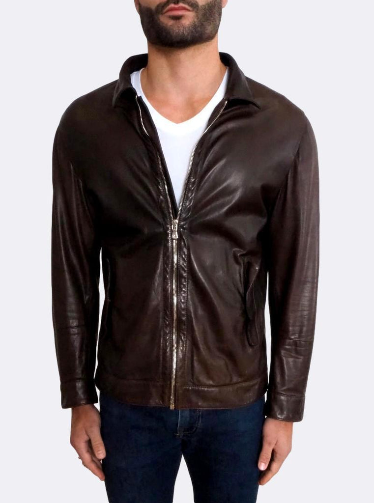 Light-weight Leather Jacket