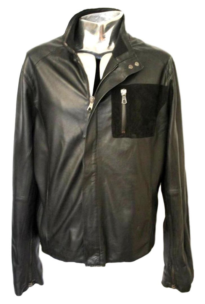 Men's Lot 78 Leather Jacket Ethan - atemporali