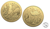 Australien Coat of Arms 1 oz Gold  Australien 2021 in Stempelglanz und gekapselt