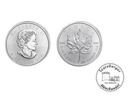 Kanada 5 Dollars 2021 Maple Leaf 1 oz 999 Silber / AG