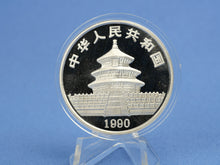 Laden Sie das Bild in den Galerie-Viewer, China 10 Yuan 1990 , Panda Bär , 1 oz 999 Silber *st*